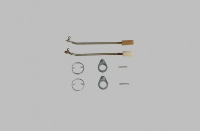 Lock operating repairing kit outer handles