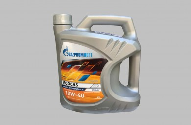 Motor Oil ECOGAS 10W-40 4L. for engines running on gas