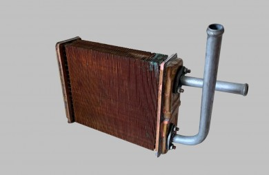 Heater radiator copper with tubes 21210