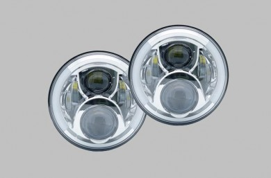 7 inch led headlights set