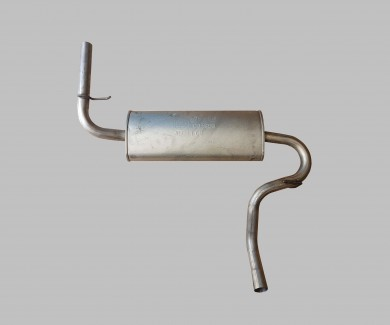 Exhaust Rear Aluminium