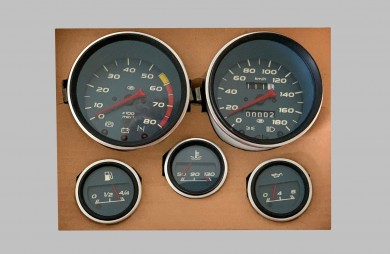 Instrument cluster 21210 dark blue