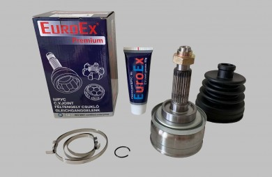Outer CV joint 24 mm set EuroEX