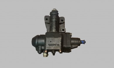 Steering gear SET with hydraulic assistance