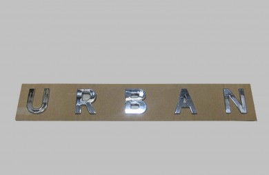 Rear badge URBAN