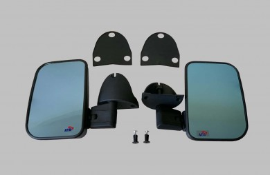 Еxterior mirror tinted set with locking bolt