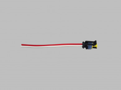 Socket with cables coolant sensor