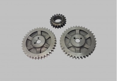 Sprocket set 3 pcs 21210
