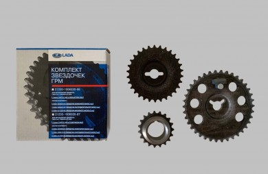 Sprockets set 3 pcs. AvtoVAZ