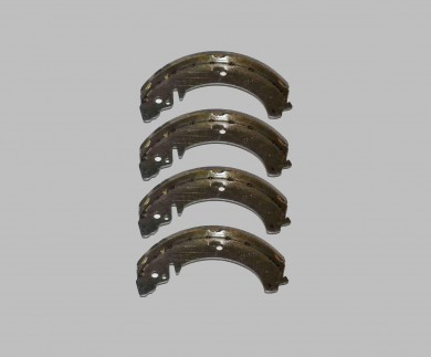 Brake pad set 4 pcs