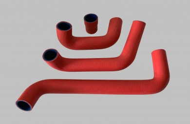 Water cooling hose SET 21210 red tuning