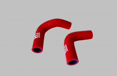 Supply and return hose heater set 21214 red