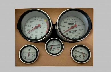 Instrument cluster 21210 silver