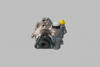 Power steering oil pump with bracket assy
