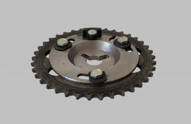 Single row adjustable sprocket
