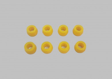 Rear shock absorbers rubber set poliurethane