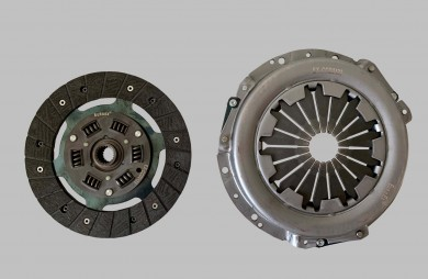 Clutch disc assy reinforced 220 mm