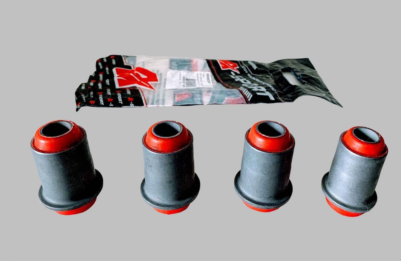 Втулки селентови 4бр. долни червени полиуретан