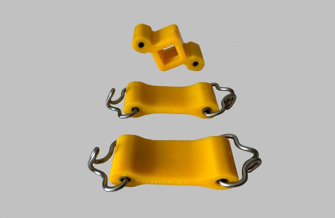 Ремонтен комплект окачване гърне жълт полиуретан