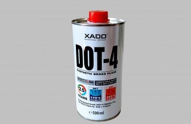 Спирачна течност DOT 4, 500 мл
