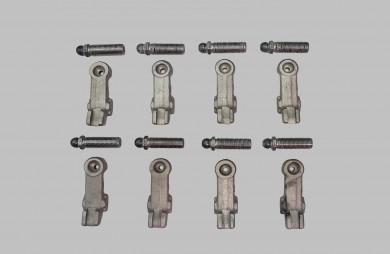 Кобилици и регулировъчни болтове 8 бр. комплект
