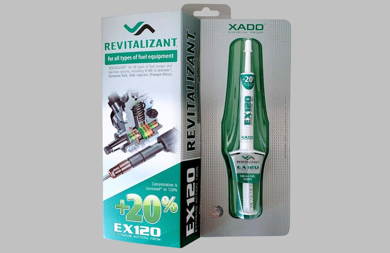 XADO Ревитализант EХ120 горивна система