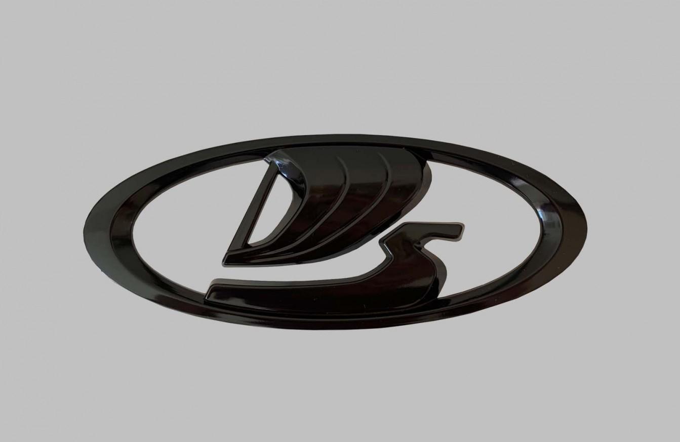 Емблема решетка 21214 голяма черна