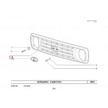 Решетка на радиатора Урбан без емблема комплект