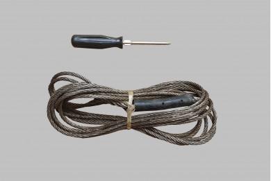 Въже за теглене метално