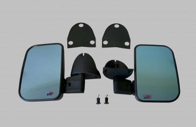 Огледала външни тонирани комплект с фиксиращ болт