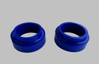 Тампони пружини предни усилени сини комплект
