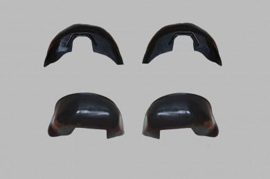 Защитни подкалници с калобрани комплект