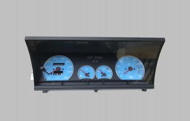 Комбинация уреди арматурно табло тъмно синьо