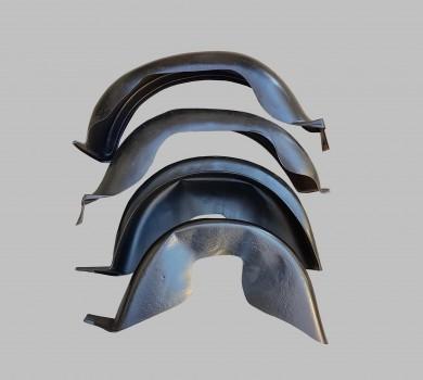 Кори защитни подкалници с предни вградени калобрани