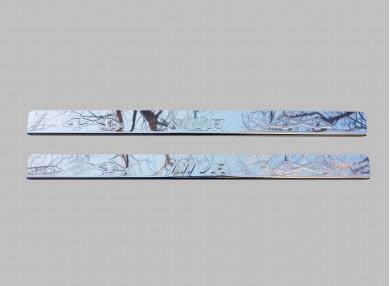 Облицовки прагове метална комплект