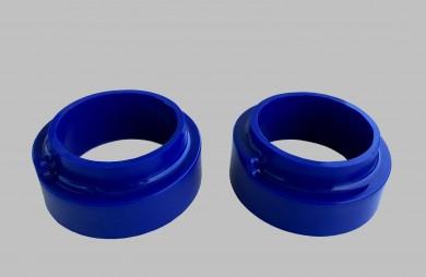Тампони пружини задни усилени сини комплект