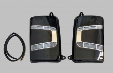 Стопове задни черни LED комплект