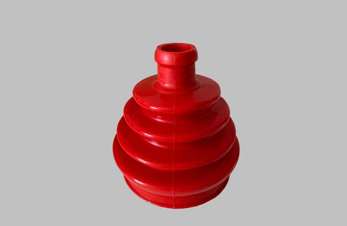 Маншон външно каре червен полиуретан