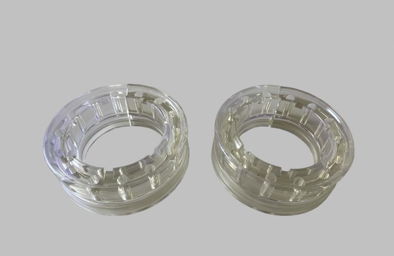 Тампони пружини задни силикон комплект