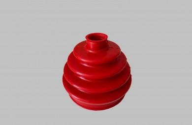 Маншон вътрешно каре червен полиуретан