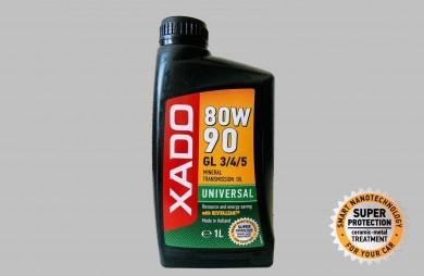 XADO Atomic Oil 80W-90 GL 3/4/5 , 1л