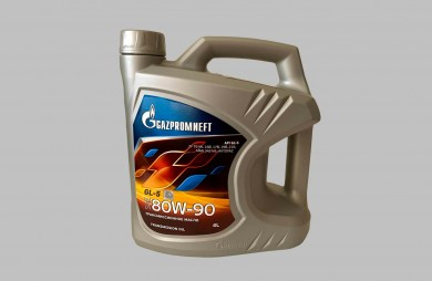 ГАЗПРОМНЕФТ Руско оригинално трансмисионно масло GL-5 80W-90 4L