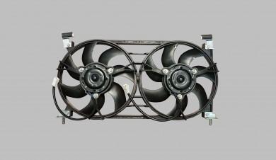 Електровентилатор охлаждане двоен