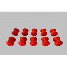 Тампони реактивна щанга комплект полиуретан спорт